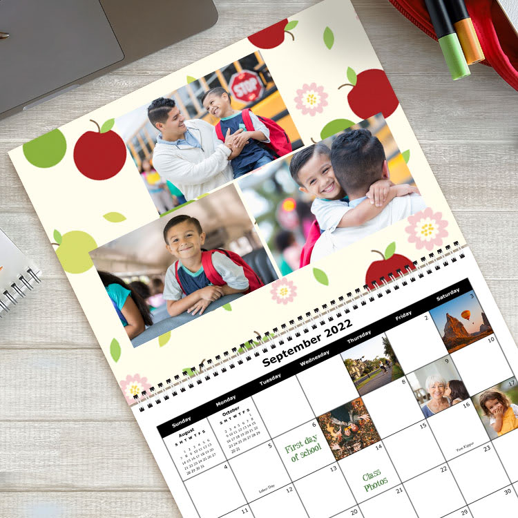 Photo Calendars Personalized Wall