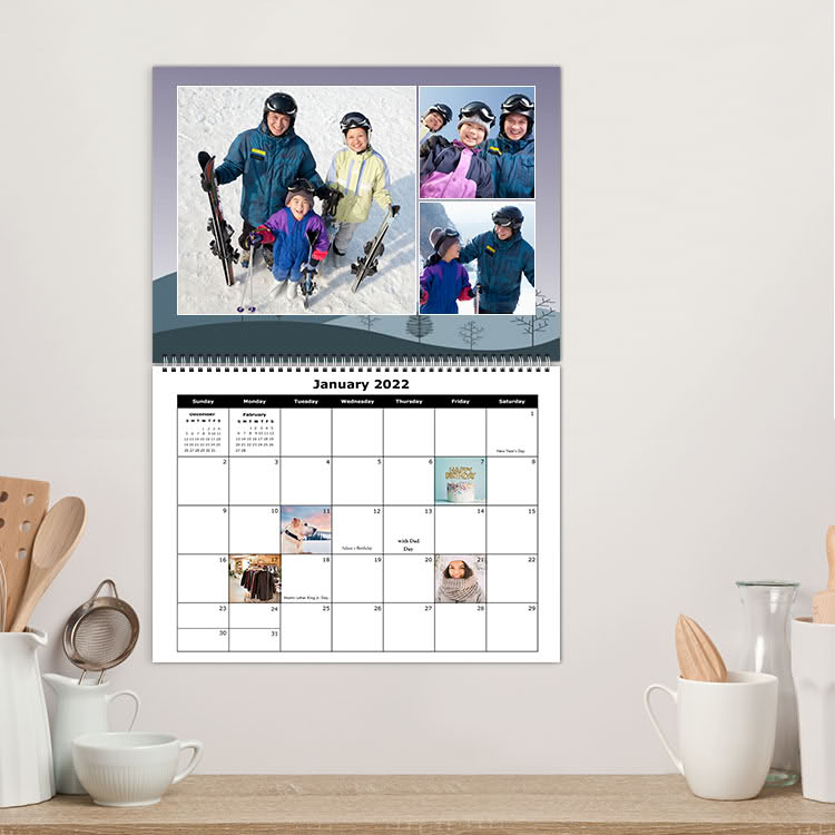 11.5 x 14 Premium Calendars - Sample Photo 1 of 4