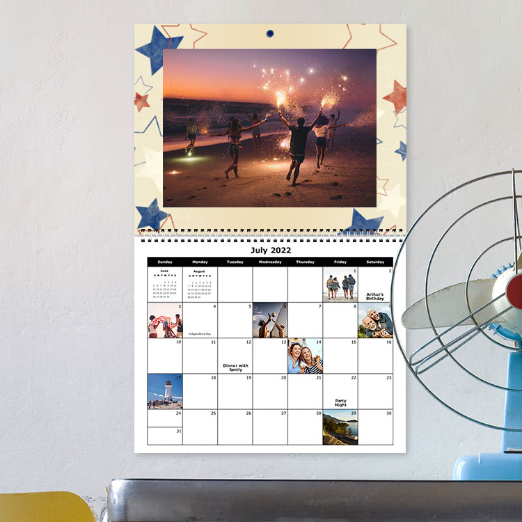 11.5 x 14 Premium Calendars - Sample Photo 2 of 4