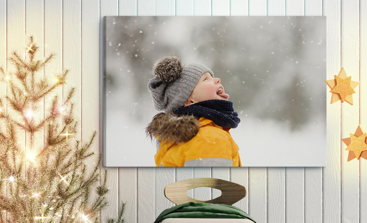 CUSTOM CANVAS PRINTING WOODEN FRAME PRINT YOUR OWN PHOTO ON CANVAS