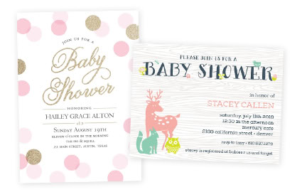 Baby Cards Premium Shower Announcement Cards – Costco Birth Announcements