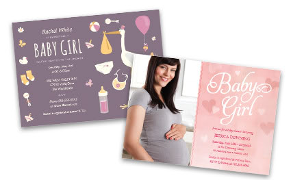 BabyShowerInvitations – Costco Birth Announcements