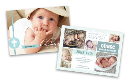 picture announcement cards