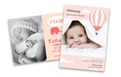 Birth Announcements Girl