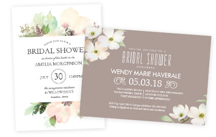 bridal shower invitations - Wedding Invitations Costco