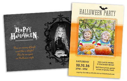 halloween invitations - Wedding Invitations Costco
