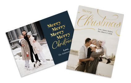 Christmas Picture Cards.Holiday Costco Photo Center