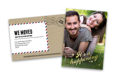 Announcement Cards Custom Announcements – Costco Birth Announcements