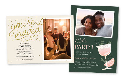 Party Invitations  Stationery Cards  Costco Photo Center