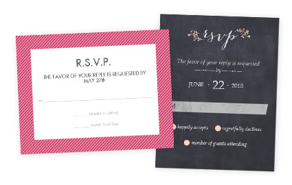 rsvp - Wedding Invitations Rsvp