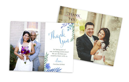Thankyou costco photo center wedding thank you junglespirit Image collections