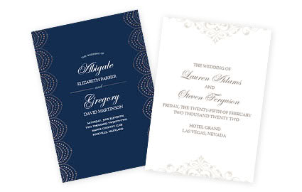 Wedding Invitations, Save The Date & RSVP Cards  Costco Photo Center